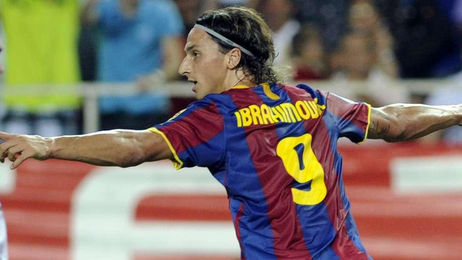 Image result for zlatan ibrahimovic barcelona