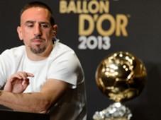 Franck Ribery Ballon d'Or Gala 2013 01132014