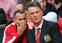 Ryan Giggs Louis van Gaal Manchester United Premier League 16082014