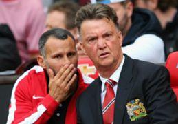 Ryan Giggs Louis van Gaal Manchester United Premier League 16082014