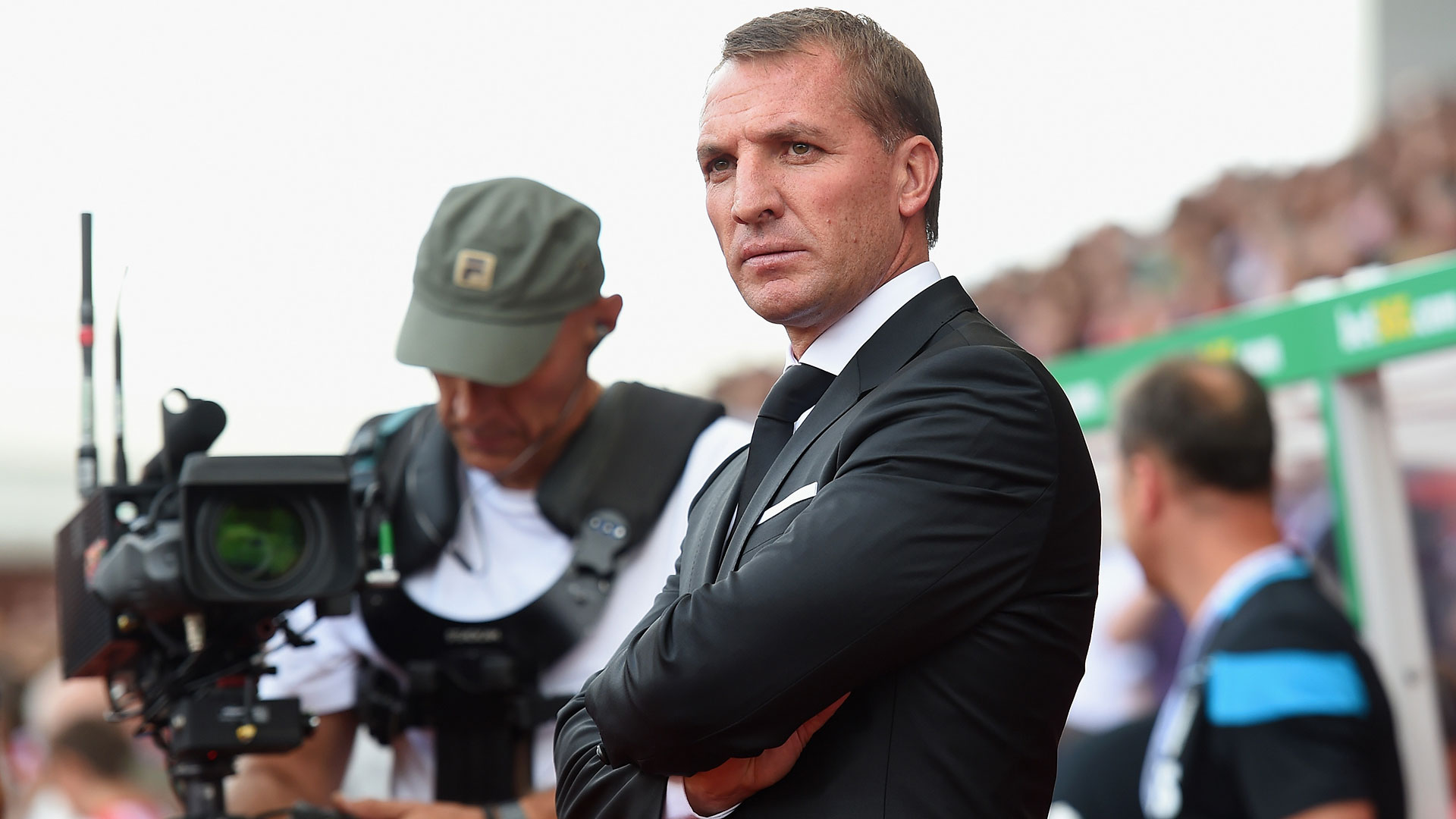 Brendan Rodgers Stoke City Liverpool Premier League 09082015