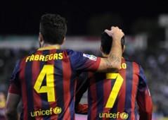 Cesc Fabregas Pedro Rodriguez Betis Barcelona La Liga 11102013