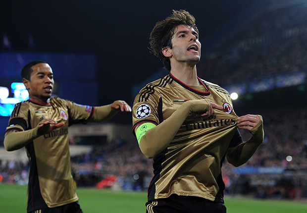 Kaka AC Milan Atletico Madrid Champions League 03112014