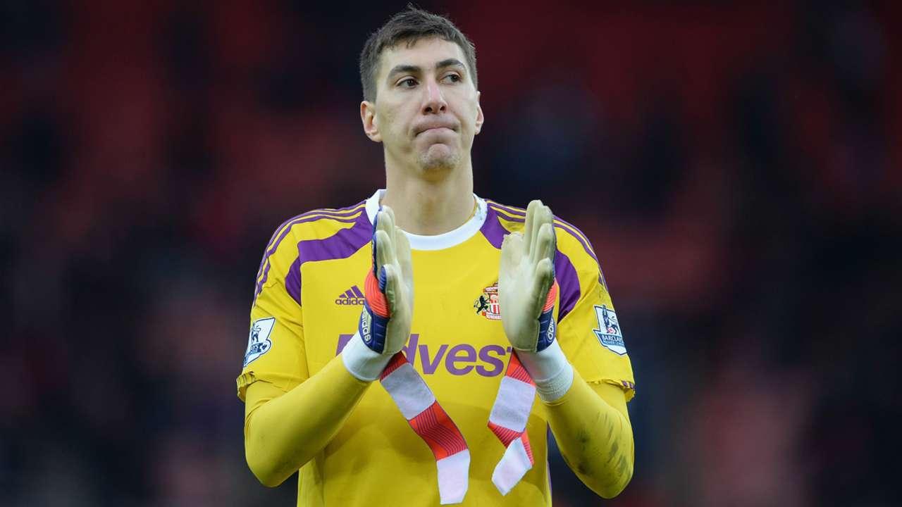Costel Pantilimon Sunderland Aston Villa Premier League 15032015