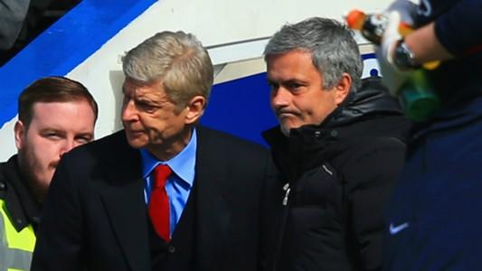 Wenger and Mourinho - 2014