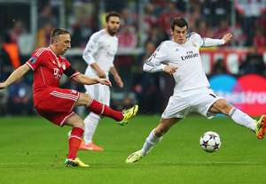 Franck Ribery Gareth Bale Bayern Munich Real Madrid Champions League Semi Final 04292014