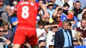 Steven Gerrard Jose Mourinho Chelsea Liverpool Premier League 10052015