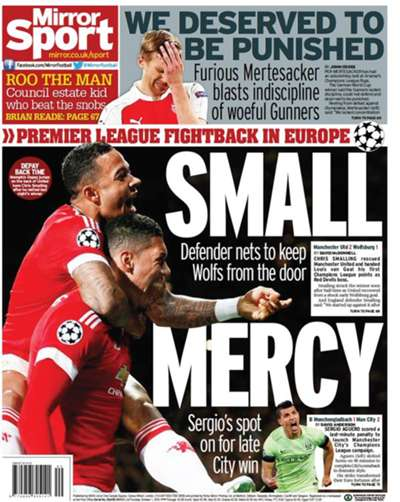 European Newspaper Review | Daily Mirror