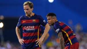 Ivan Rakitic Neymar Atletico Madrid Barcelona La Liga 12092015