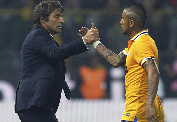 Chelsea boss Conte calls Vidal: England will suit you