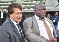 Simon Mpengesi, Chippa United, April 2014