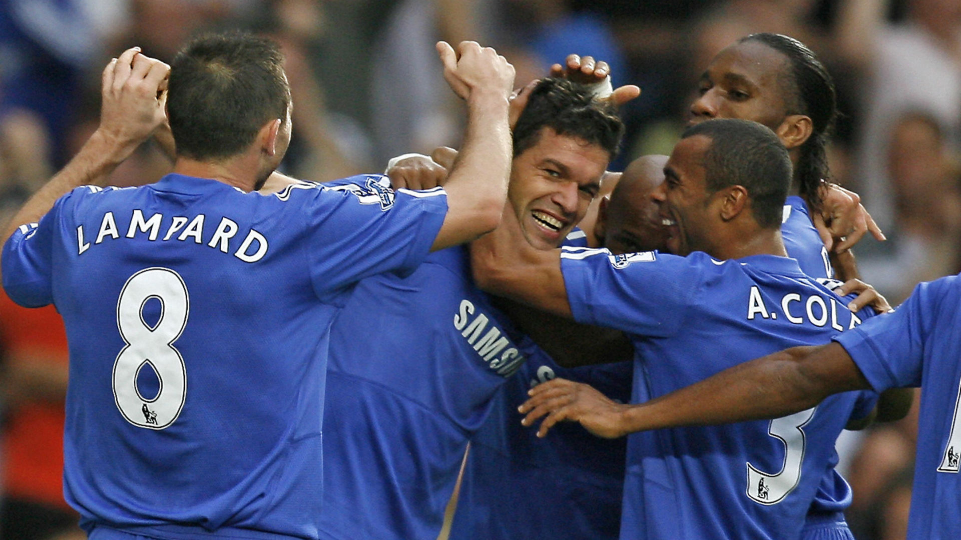 Michael Ballack Premier League Chelsea in Tottenham