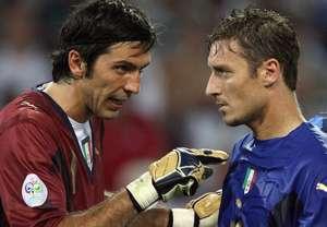Buffon Totti Italy 2006