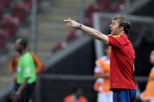Julen Lopetegui, técnico de España