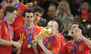 Andres Iniesta Spain World Cup 2010
