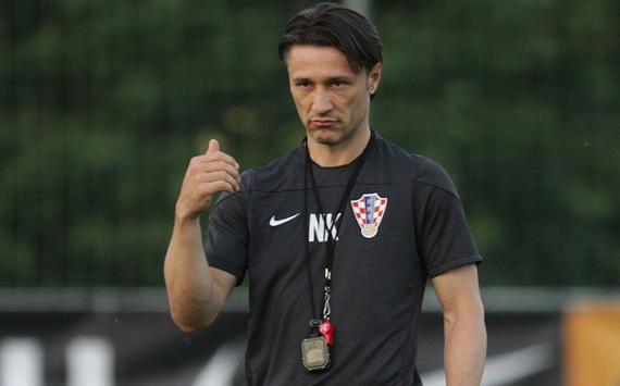 Niko Kovac Croatia training