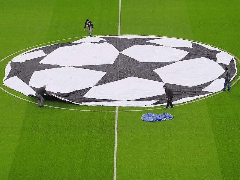 UEFA Champions League Flag