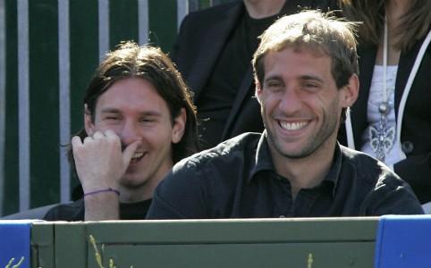 Lionel Messi - Pablo Zabaleta - Conde de Godo - Barcelona 05012008