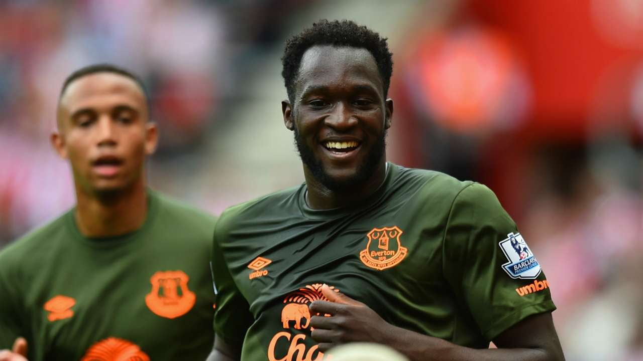 Romelu Lukaku Southampton Everton Premier League 15082015