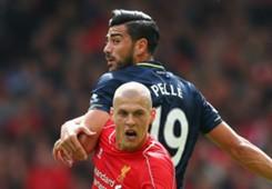 Martin Skrtel Graziano Pelle Liverpool Southampton