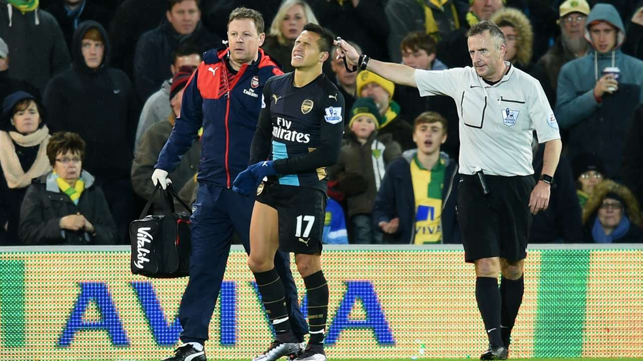 Alexis Sanchez Norwich City Arsenal 29112015