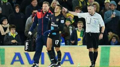 Alexis Sanchez Norwich City Arsenal 29112015