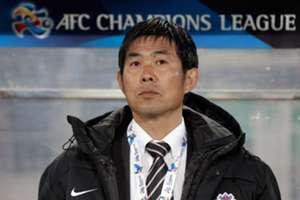 Sanfrecce Hiroshima manager Hajime Moriyasu