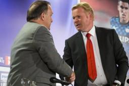 Dick Advocaat and Ronald Koeman, PSV - Feyenoord