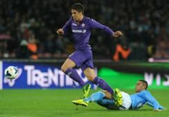 Marko Bakic Faouzi Ghoulam Napoli Fiorentina 03232014