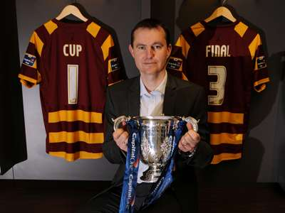 Capital One Cup press conference at Wembley, David Wetherall