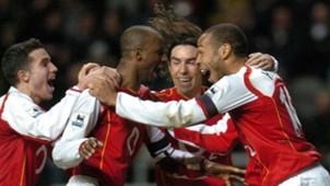 Patrick Vieira Thierry Henry Arsenal 29122004