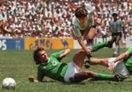 LOTHAR MATTHAUS DIEGO MARADONA WORLD CUP 1986