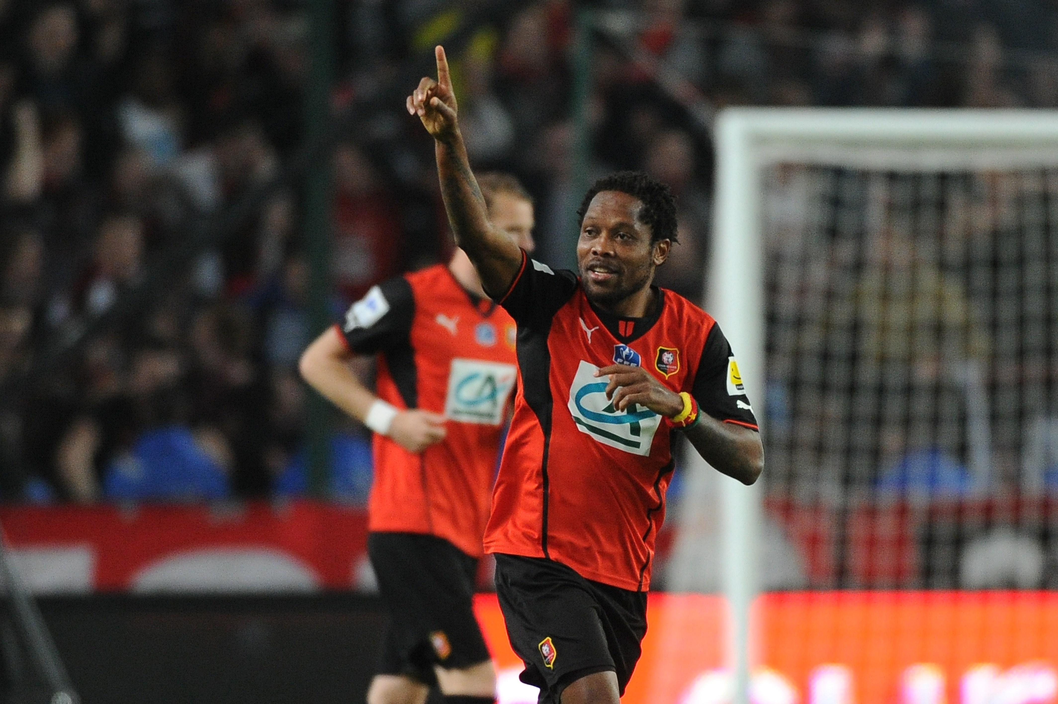 Rennes midfielder Jean Makoun