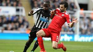Claudio Yacob West Brom Moussa Sissoko Newcastle Premier League 09052015