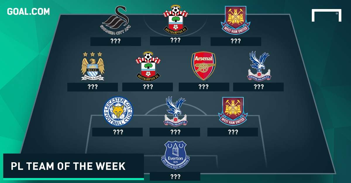 Premier League Team of the week matchday 4