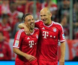 Bayern Munich - Borussia Mönchengladbach, Ribery and Robben