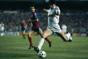 Real Madrid 4 Borussia Monchengladbach 0 1985