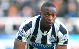 Newcastle United striker Shola Ameobi