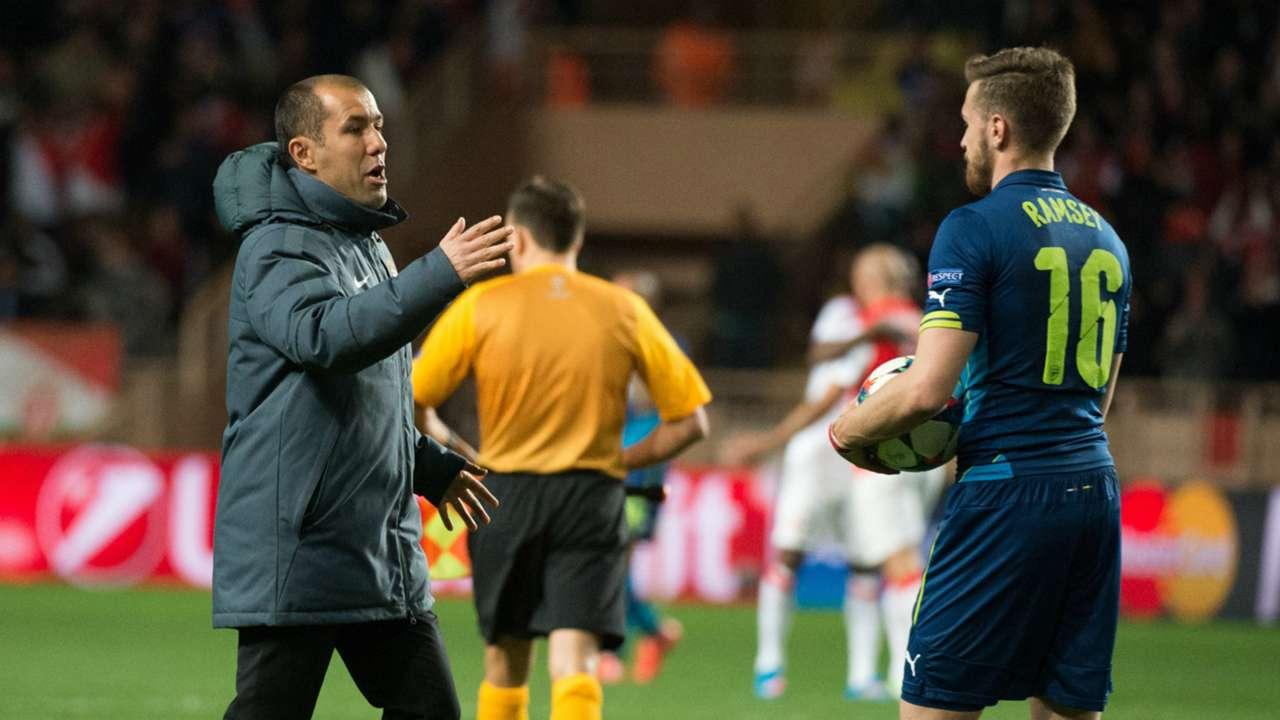 Aaron Ramsey Monaco Arsenal 17032015