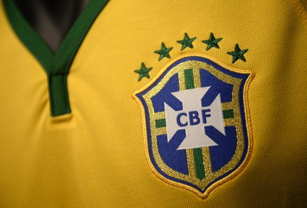 Brazil new shirt with logo