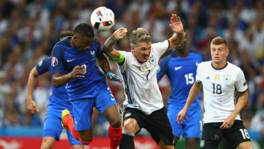 HD Patrice Evra Bastian Schweinsteiger Germany France