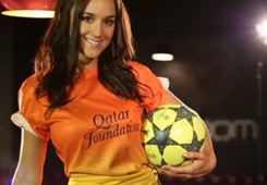 Rosie Jones in Barca away
