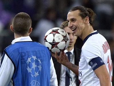 Zlatan Ibrahimovic Paris Saint Germain PSG Anderlecht Champions League 10232013
