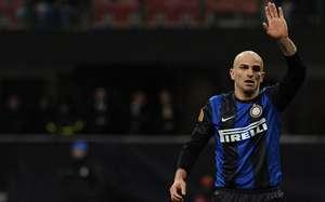 Esteban Cambiasso. Inter - Juventus- Serie A