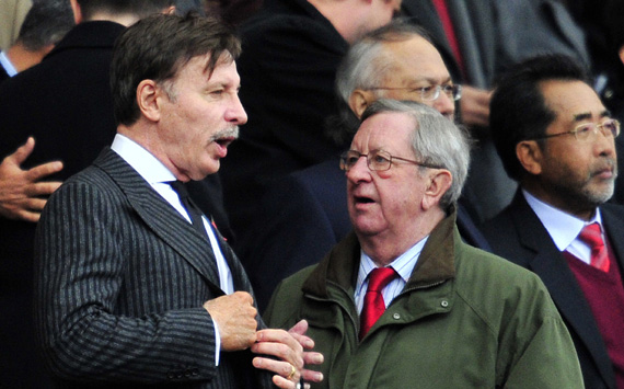 Stan Kroenke,Peter Hill-Wood:Arsenal