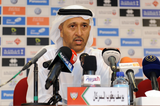 Yousef Serkal Chairman of the UAE Football Association