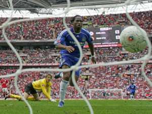 Didier Drogba Chelsea Manchester United FA Cup final 05192007