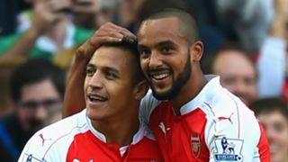 Alexis Sanchez; Theo Walcott Arsenal