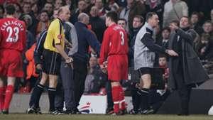 Jose Mourinho Carling Cup final 2005