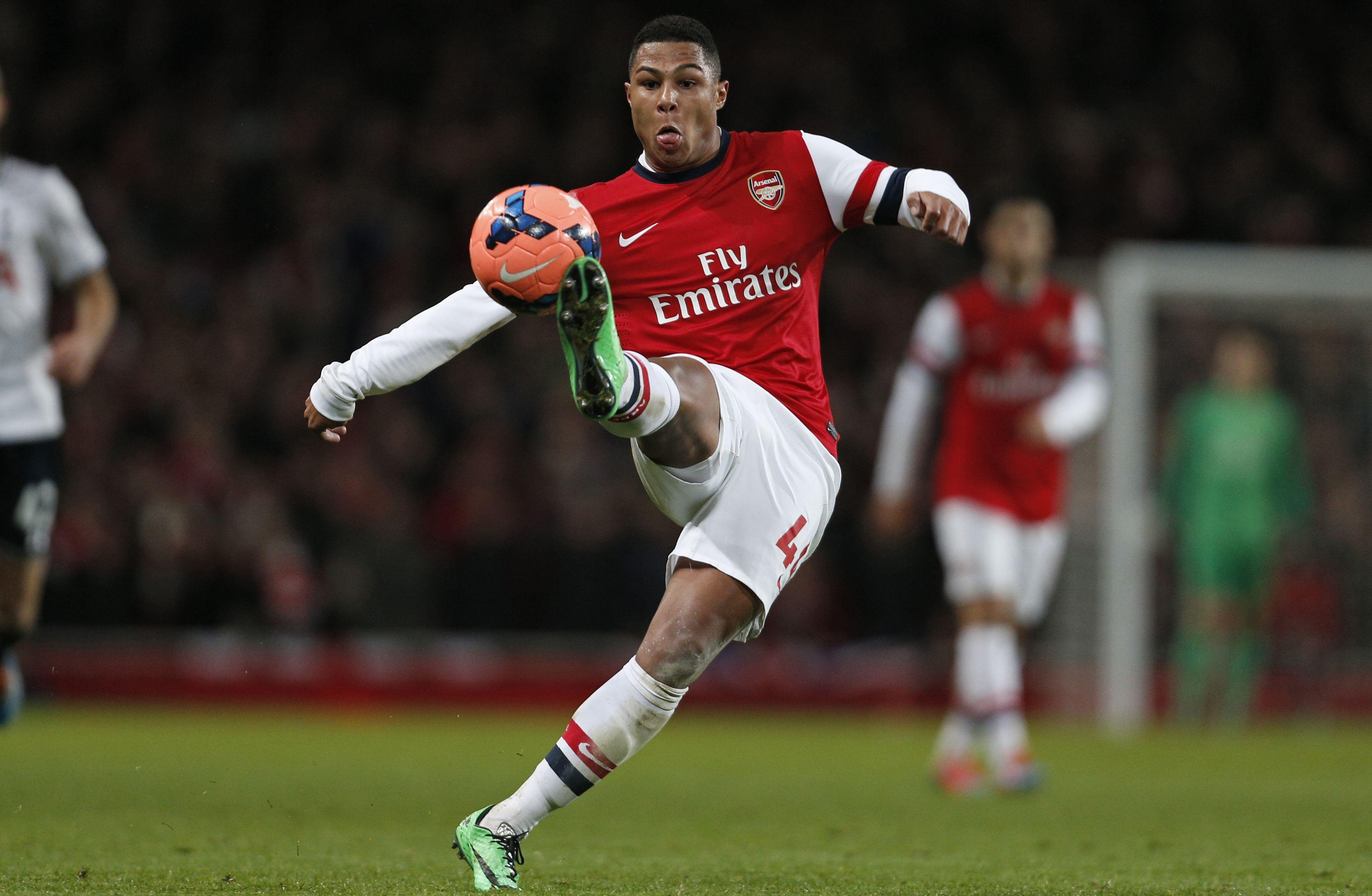 Arsenal winger Serge Gnabry
